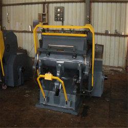 Halbautomatische stempelschneidene faltende Maschine des Karton-Ml-750