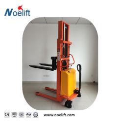 Réglage de fourche 1tonne/tonne Semi-Electric 1.5ton/2Gerbeur chariot élévateur à fourche