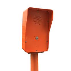 Sos Ayuda del cuadro de emergencia de llamada de teléfono Teléfono Impermeable IP67 para el aeropuerto de la seguridad de la puerta Teléfono