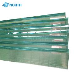 زجاج مقسّى للحائط المصفح مقاس 12 مم أو شفاف، مقاس 40 مم