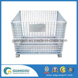 Diverse Gegalvaniseerde Container van de Pallet van het Netwerk van de Draad van het Staal