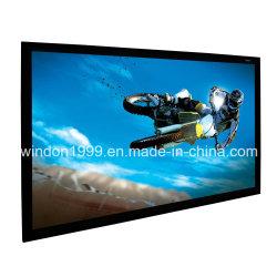 شاشات عرض ثلاثية الأبعاد مع إطار مخملية باللون الأسود من الألومنيوم