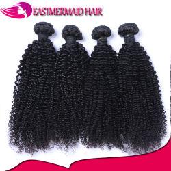 2017熱い販売100%Virginの人間の毛髪のねじれた巻き毛のインドの毛