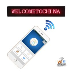 LED-Schild mit beweglicher Nachricht mit Mobiltelefonsteuerung (WiFi)