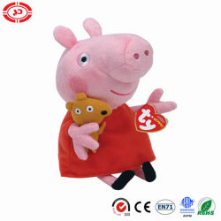 Ty Beanie Babies Peppe cerdo juguetes de peluche regular