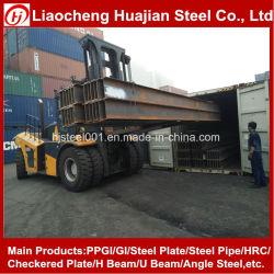O aço estrutural H Beam JIS G 3101 SS400