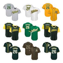 남자 여자 유스 Athletics Jerseys 26 Matt Chapman Baseball Jerseys
