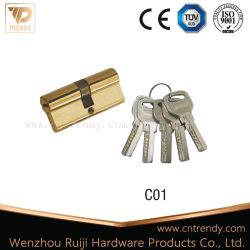 Обе стороны открытых дверей включает ключевые цилиндра (C01)