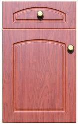 나무로 되는 곡물 PVC 베니어 피부 부엌 문