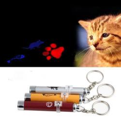 Laser는 고양이 놀리는 사람 개 고양이 재미있은 애완 동물 훈련 장난감 LED 포인터 라이트펜 밝은 마우스 애니메니션을