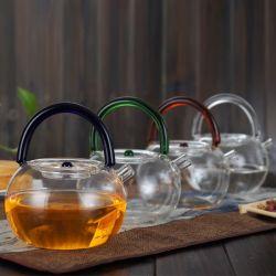 شاي كوب Pyrex كوب بوت الشاي الكهربائي غلاية تخصيص الشاي الزجاج غلاية زجاج معط