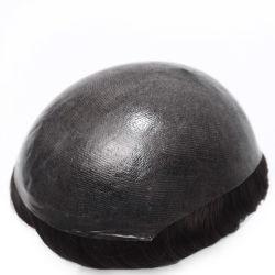 Insによって注入される極度の薄い皮の在庫の高品質メンズToupee