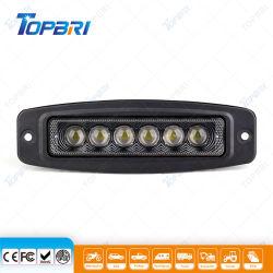 La inundación de 12V LED spot, faro Offroad Trailer Lámparas de Automóviles de trabajo
