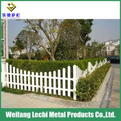 Prueba de agua con recubrimiento en polvo colorido plástico PVC valla de seguridad residencial Casa y jardín