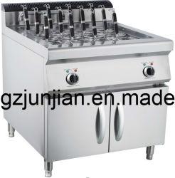 Cuisinière à gaz permanent pâtes gratuit avec le Cabinet Restaurant commerciale en acier inoxydable Cuiseur à pâtes Machine automatique