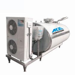Longo tempo de trabalho do leite do tanque de refrigeração, leite de tanques de resfriamento de leite, máquina de refrigeração