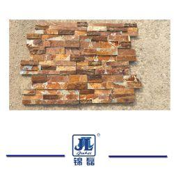 طبيعيّ أبيض/أسود/أصفر/صدئة/ثقافة أخضر [لدجستون]/[فيلدستون] حجارة/أردواز لأنّ جدار [كلدّينغ] زخرفة/جدار خارجيّ/يرتّب جدار حجارة