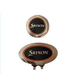 Cheap Metal Craft Custom Owl Logo Tennis métal/Coin/sublimation de la peinture blanche Golf Hat Clip avec le marqueur de balle (025)