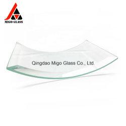 휘어진 강화 유리 빌딩 중국 제조업체의 강화 곡선 유리