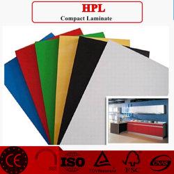 Porta / Pele mobiliário, Painel de fórmica decorativa, Folha de HPL Grãos de madeira