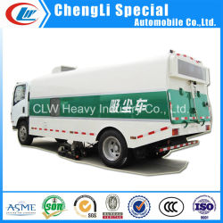 4X2 Road Sweeper limpiar el polvo de proteger el medio ambiente carretilla