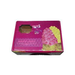 ブドウのパッケージのための二重壁の高品質のフルーツボックスカートン