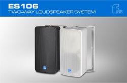 6'' altavoz resistente al agua con transformador de 100V, IP46