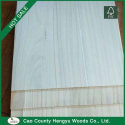 Blanchis Paulownia des panneaux de bois mixte pour l'artisanat fait main