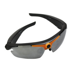 Venta caliente de vídeo HD 720p Deporte Gafas Cámara Grabadora Mini DV Rt-323