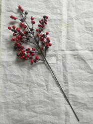 Свадебные Рождество Берри фрукты оформление филиал выбирает партии искусственные цветы