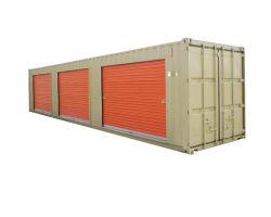 10M 20FT 40ft Contenedor de almacenamiento automático mueble contenedor de envío con la puerta de vaivén para un funcionamiento sencillo