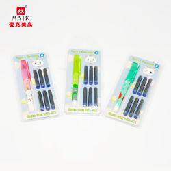 Heißer Verkauf Student Brunnen Stift zur Förderung, Günstige Kunststoff-Stift mit Logo