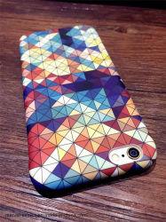 Disco rígido de geometria coloridos de volta para a tampa do telefone iPhone X 8 7 6 6S Plus
