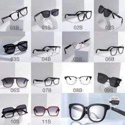 Óculos inteligente para óculos Bluetooth Headset estéreo sem fio com ouvindo músicas, chamando, Assistente de Voz, Música, visão, Smart Óculos Bluetooth.