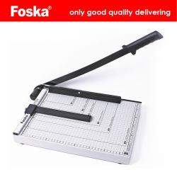 Tondeuse Foska papier avec la ligne de coupe règle