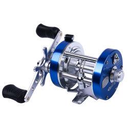 4000 2+1BB el sistema de freno doble bastidor de aluminio serie Ca Baitcasting carrete de pesca