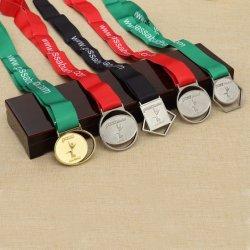De maat 3D Medaille van de Karate van het Medaillon Triathlon van de Herinnering van Taekwondo van de Toekenning van de Sporten van de Afwerker van de Marathon Lopende Militaire Olympische