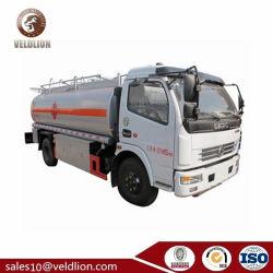 شاحنة توزيع الديزل Duolika الصغيرة، شاحنة سعة 8 لترات لخزان الوقود، شاحنة تصريف الزيت