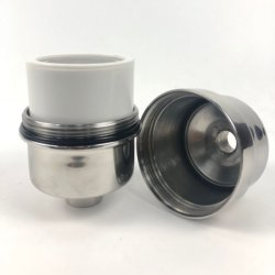 Filtro minerale dall'acquazzone dell'acciaio inossidabile del filtrante 304 della testa di acquazzone
