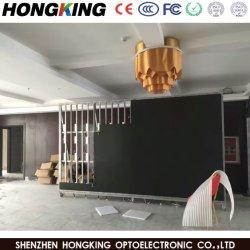 P7.62 Interior de alta resolução de tela LED RGB