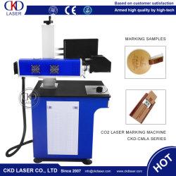 CO2 лазерная гравировка маркировка машины для бумаги из натуральной кожи пластмассовые деревянные изделия из бамбука