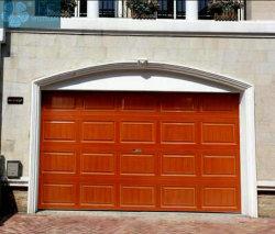 Villa Galerie automatique de l'induction en alliage aluminium porte de garage isolé avec de la forme d'Arche