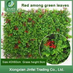 Home jardín de césped sintético de pared decorativos valla pared verde follaje de plantas artificiales para la Decoración de pared