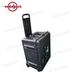 300W 폭탄 세포 이동 전화를 사용하여 휴대용 형무소 군은 방해기, 2g 3G 4G 5g WiFi GPS Lojack 휴대용 무인비행기 이동 전화 신호 방해기를 신호한다