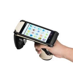 Hand-RFID Leser mit Leser AufladeeinheitIP65 Android 6.0 6000mAh UHFRFID