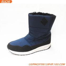 Nuevo estilo de la moda de la nieve de alta calidad resistente al agua Non-Slip cálido invierno botas de hombre