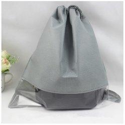 3 de Zak van de Opslag van de Reis van de grootte voor Kubus van de Verpakking van de Organisator van de Reistassen van de Stofzak van de Vrouwen van de Handelsreizigers van Drawstring van de Kleren van Schoenen De Niet-geweven