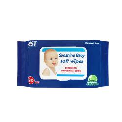 Волшебный Детский поддающихся биохимическому разложению продукта влажные чистящие салфетки ткани
