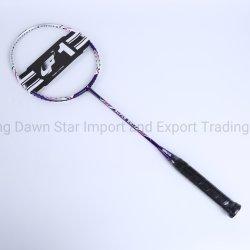 Carbono coloridos raquete de badminton Preço competitivo Begainer de alta qualidade