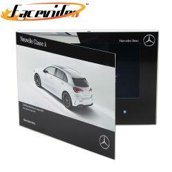 Fabricante Facevideo 10.1 polegadas LCD Monitor Brochura de Produção de vídeo Vídeo da Marca automóvel Concurso de Vídeo de brochura brochura
